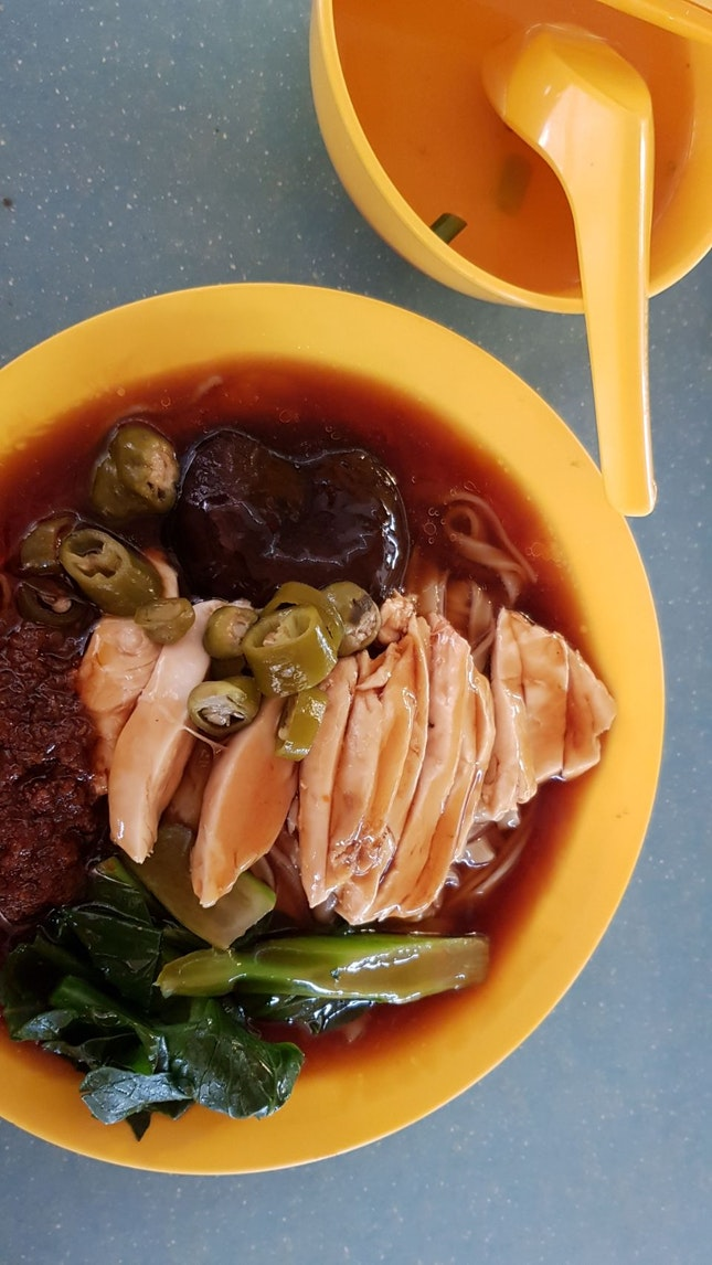 Hearty & Homey Tasting Shredded Chicken Noodles