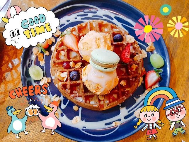 Earl Grey Waffles?!