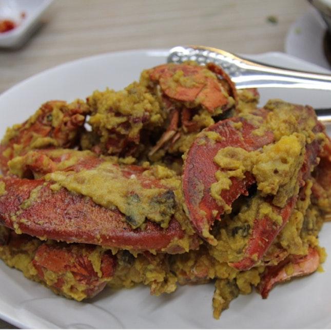 Salted Egg Lobster