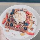 Belgian (Berries) Waffles