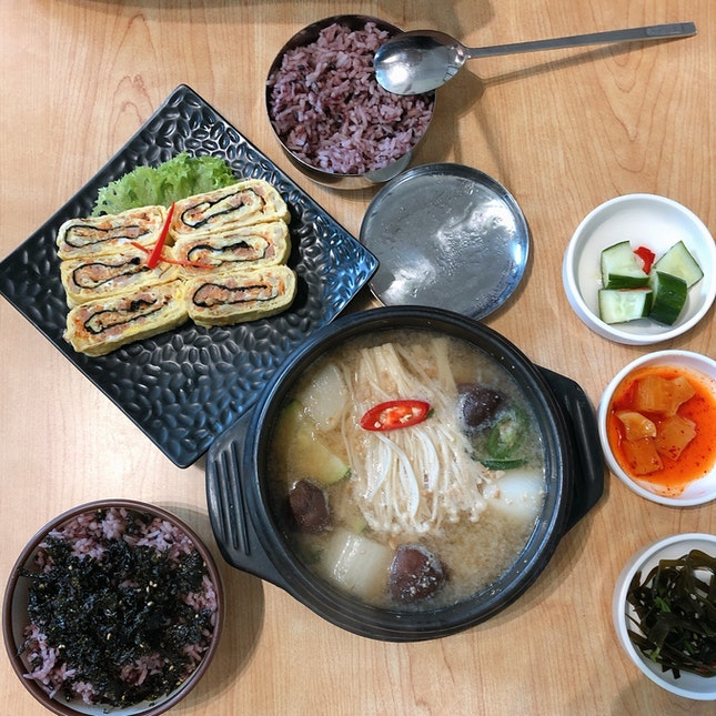 Hearty Korean Cuisine