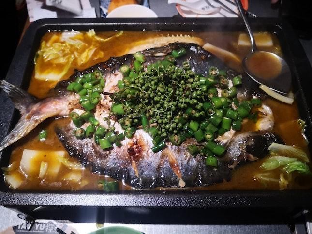Green Pepper Flavour, Limbo Fish