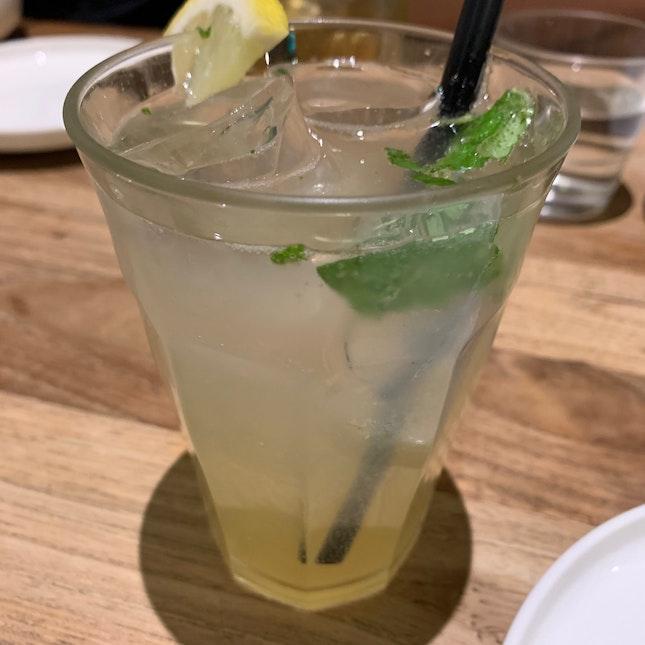 Handcrafted Basil Mint Lemonade
