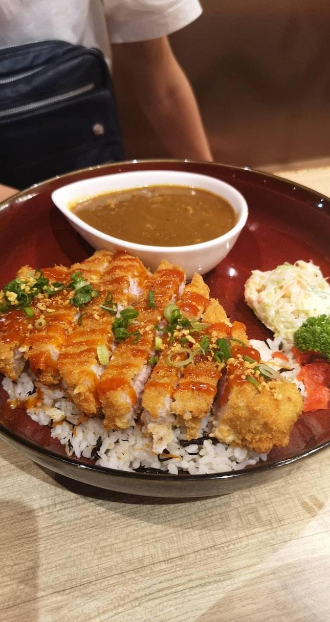 Pork Katsu Chicken Curry