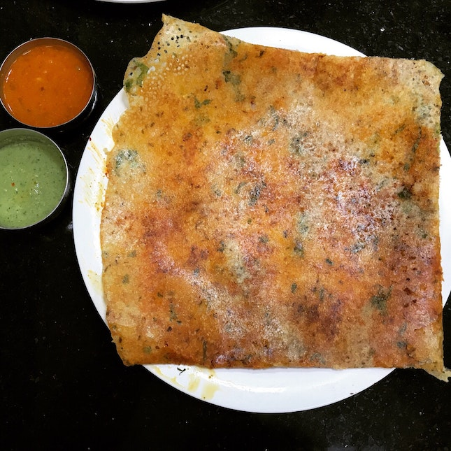 Customised Pudi Rava Dosa $6.50
