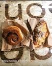 Cinnamon Bun & Almond Croissant $3.50 Each