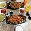 Spicy Pork $8.50 & cuttlefish $9.50
