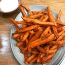 Sweet Potato Chips With perinaise $5.90