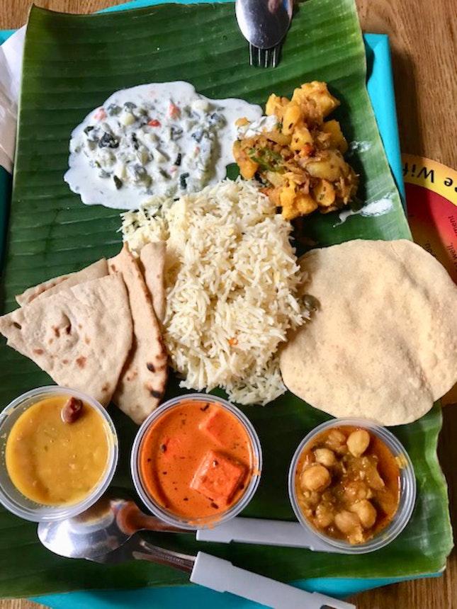 Vegetarian briyani  $9.30