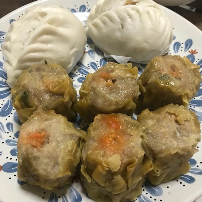 Pork Bun & Siew Mei $6.40