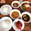 All 5 Dishes With 2 Rice, Calamansi Drink $25