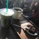 Green Tea Cream Fruppucino-V + Peru Amazonas Huambo -V