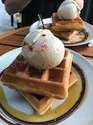 Waffle Set $12 (1-for-1 Deal #burpplebeyond)