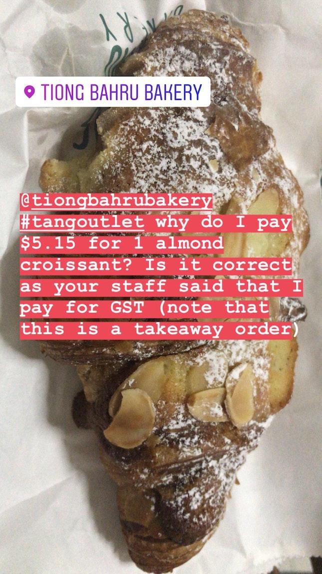 Almond Croissant $5.15