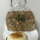 National Day Special: German Muesli $2.40 (full Loaf) & Raisin Cream Bun $1