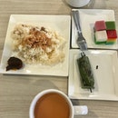 A.3 Glutinous Rice Set $4.80 + Lemper Udang $1.80 + Kopi-C $2.3