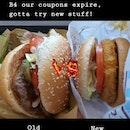 Whopper $7.50!VS BK Veggie Burger $4.80