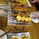 China Skewer Bar In Geylang