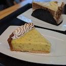 lemon chia meringue tart   carrot cake ($6)
