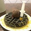 Salted Egg Yolk Waffle