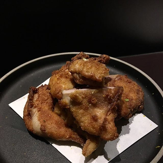 A simple quail dish rubbed with Sansho pepper fried to perfection.
