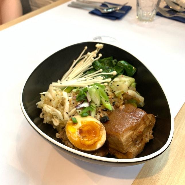 Pork Belly Bowl