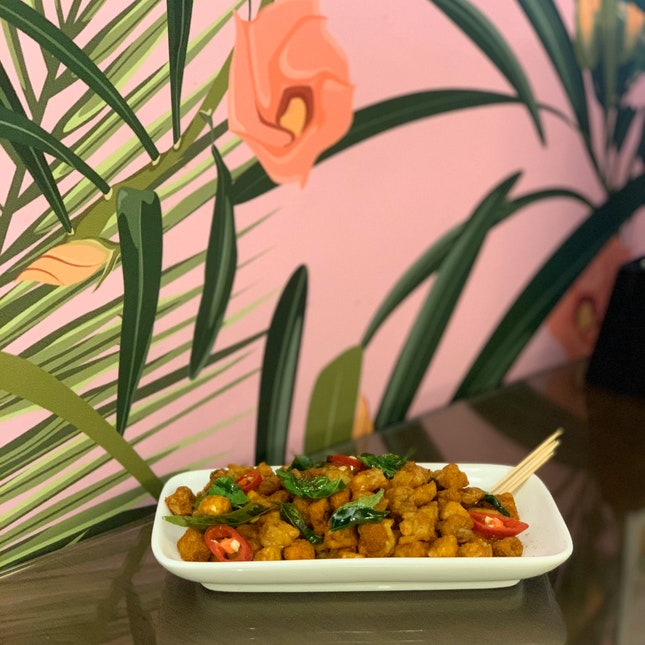 Curry Tempeh Cube