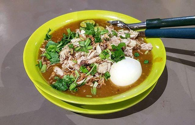 mee rebus 👍 20.9.17 #foodporn #sgfoodporn #foodsg #sgfoodies #instafood #foodstagram #cafehoppingsg #sgcafefood #vscofood #burpple #hungrygowhere