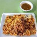 nasi briyani 👍🏻 17.2.19 #foodporn #sgfoodporn #foodsg #sgfoodies #instafood #foodstagram #vscofood #burpple #hungrygowhere #hawkerfood #hawkercentre