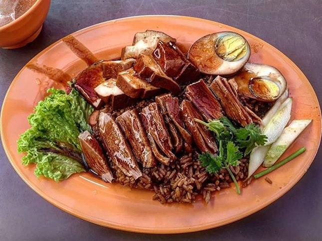 braised duck rice  10.6.19 #foodporn #sgfoodporn #foodsg #sgfoodies #instafood #foodstagram #vscofood #burpple #hungrygowhere #hawkerfood #hawkercentre