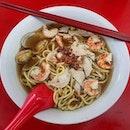 prawn noodles soup 👍🏻 13.7.19 #foodporn #sgfoodporn #foodsg #sgfoodies #instafood #foodstagram #vscofood #burpple #hungrygowhere #hawkerfood #hawkercentre