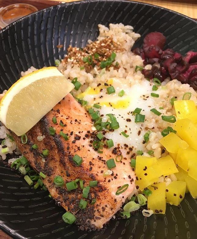 That sous vide salmon 😍  #burpple #burpplesg #sousvide #eathealthy
