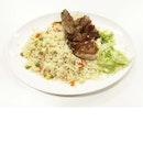 Pork Chop With Fried Rice