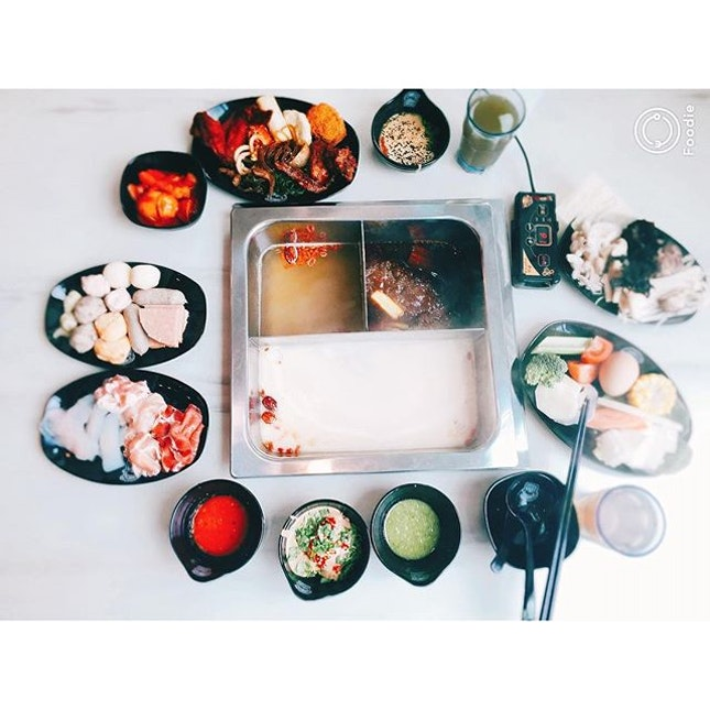 Korean style Steamboat buffet