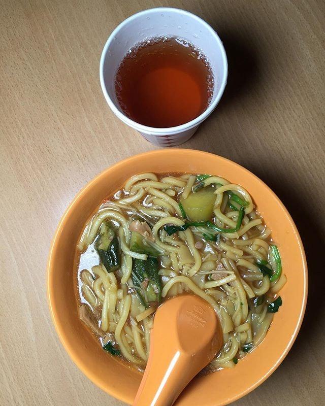 Rickshaw Noodle 🍜 + Hot Tea