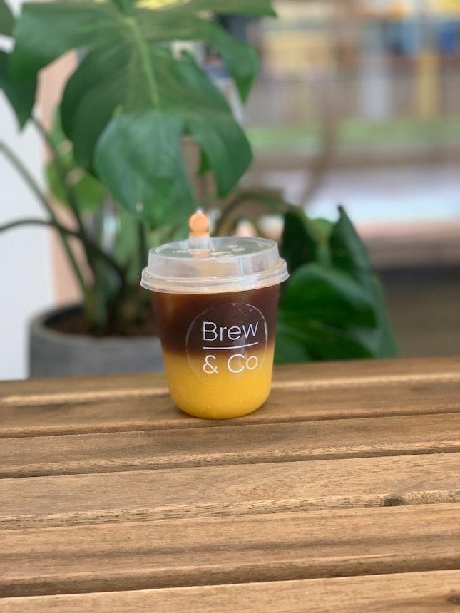 Coffee + Orange