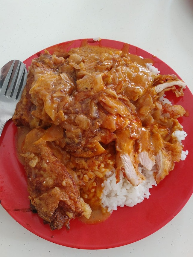 Rich Heavy Curry Rice - $5