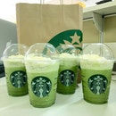 Today's Starbucks Situation: Green Tea Alert!