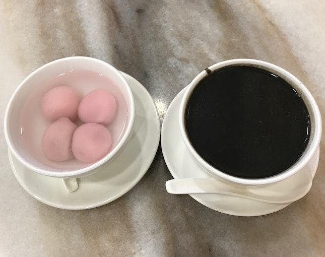 Black Sesame Paste with Tang Yuan