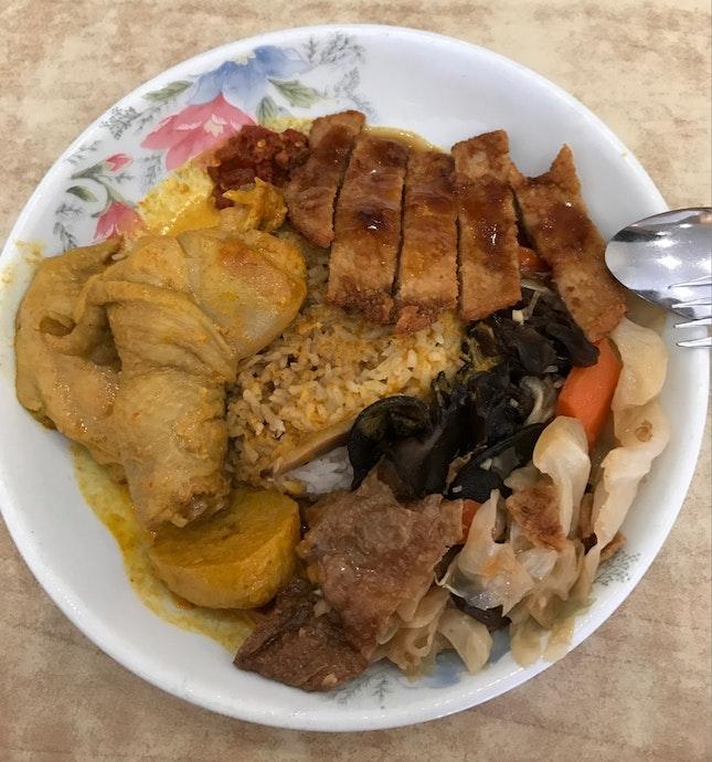 Pork Chop Set ($9)