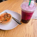 Mai Hum Laksa Pie and Ruby Red Grape