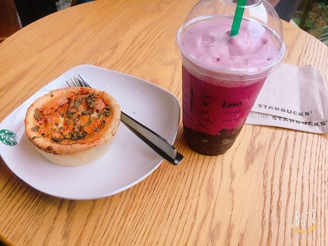 Mai Hum Laksa Pie and Ruby Red Grape