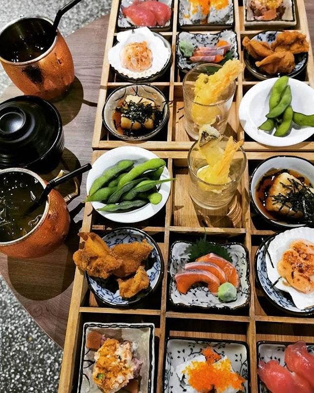 3 x 3 Omakase set at Hana Restaurant!