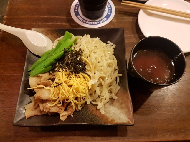 Cold Noodle With Hot Dipping Sauce (Plum Sauce)