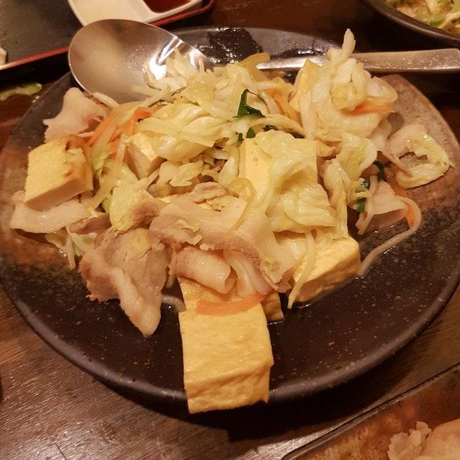 Stir-fried Okinawan Bean Curd With Vegetable & Okinawan Egg