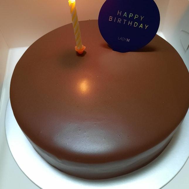 Checkers (Chocolate Cake)