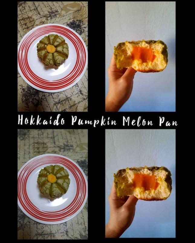 Hokkaido Pumpkin Melon Pan