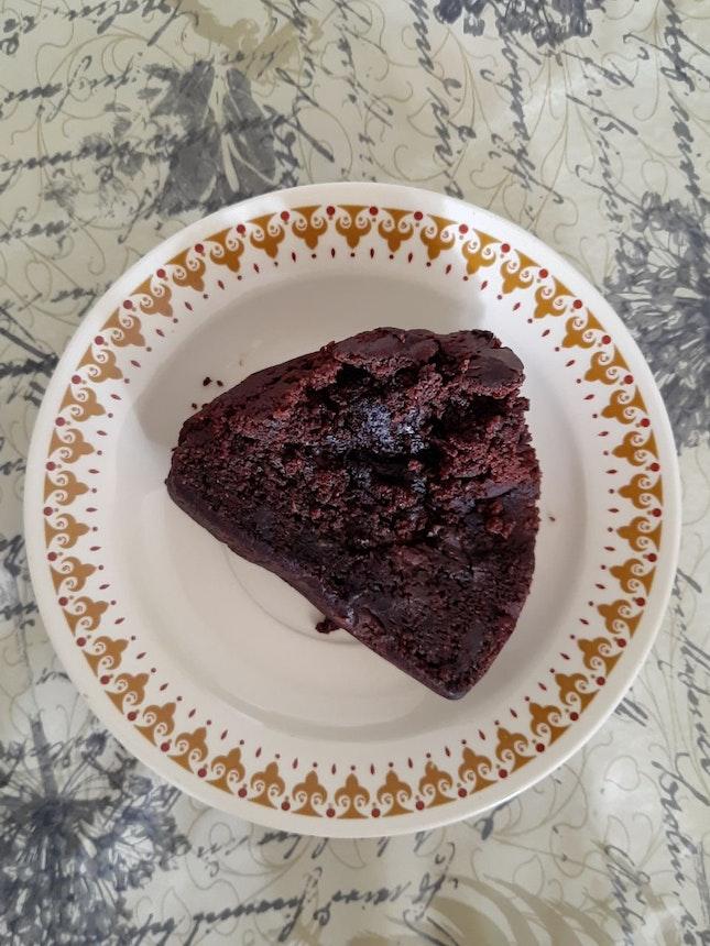 Chocolate Rye Zucchini Cake