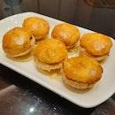 >hua ting singnature baked chicken tartlets ($6.90)