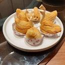 >crispy scallop pastry ($3.80 ea)